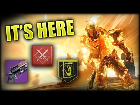 Destiny - THE BOUNTY IS FINALLY HERE!!! - HANDCANNON TIME