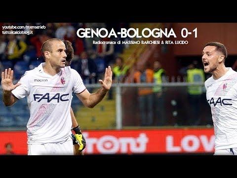 GENOA-BOLOGNA 0-1 - Radiocronaca di Massimo Barchiesi & Rita Lucido (30/9/2017) da Rai Radio 1