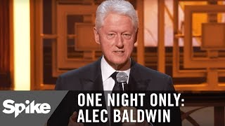 President Bill Clinton Makes a Surprise Appearance | One Night Only: Alec Baldwin