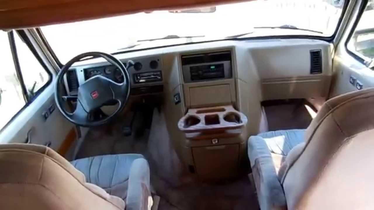 1996 Coachmen Class B Camper Van Low Miles Generator GMC Chassis 17900