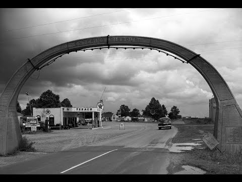 US HWY 61 Blues highway port of entry at Missouri Arkansas State Line