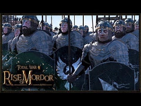 Massive 18,000 Lord Of The Rings Battle – Rise Of Mordor Total War Gameplay