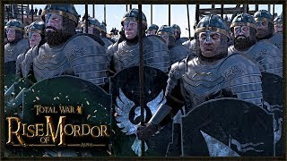 Massive 18,000 Lord Of The Rings Battle - Rise Of Mordor Total War Gameplay