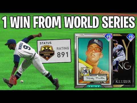 IF WE WIN WE MAKE WORLD SERIES! 99 KLUBER GOES OFF? MLB The Show 20 Diamond Dynasty