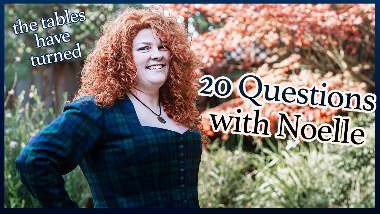 20 Questions with... Noelle of Costuming Drama | Icebreaker Questions with Costumers
