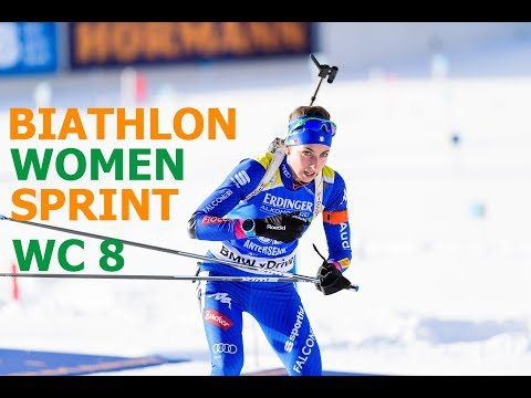 BIATHLON WOMEN SPRINT 15.03.2018 World Cup 8 Holmenkollen (Norway)