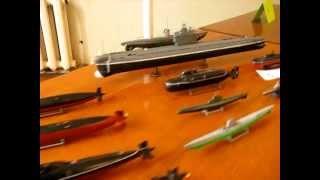 Выставка ''Микромир-2013'' Пластик: Подводный флот