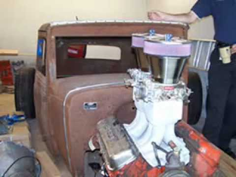 Camaro Vs Mustang >> 1931 Rat Rod 427 Big Block Chevy w/ Tunnel Ram 2x4 - YouTube