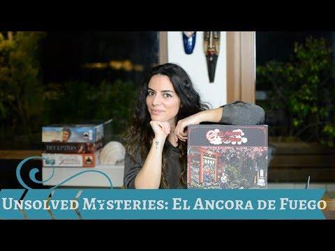Unsolved Mysteries: El Ancora de Fuego | Board Game