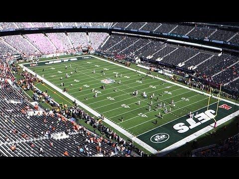9655eda6b01 Inside a New York Jets Game at Metlife Stadium - YouTube