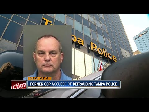Former Tampa Sergeant accused of defrauding Tampa Police