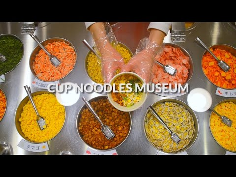 Cup Noodles Museum, Yokohama | One Minute Japan Travel Guide