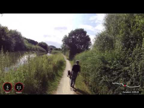 Grantham Canal: Grantham to Woolsthorpe
