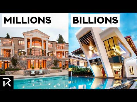 $1 Million VS $1 Billion Mansions