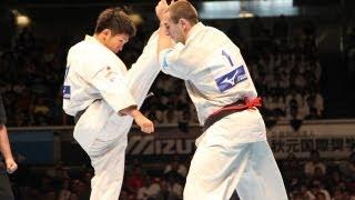 THE 10th WORLD KARATE CHAMPIONSHIP Men 5th round Valeri Dimitrov vs...
