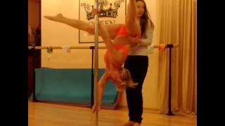 бути дэнс уроки для начинающих - Школа танцев Pole Dance Queen - Шумкова Александра(уроки пол дэнс. Видео предоставлено студией танца Queen (http://www.vk.com/poledancequeen), при поддержке Интернет-магазина..., 2015-04-21T04:54:19.000Z)