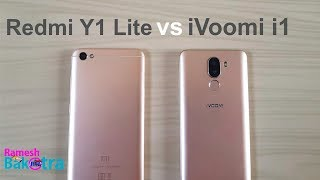 iVoomi i1 vs Redmi Y1 Lite SpeedTest and Camera Compare