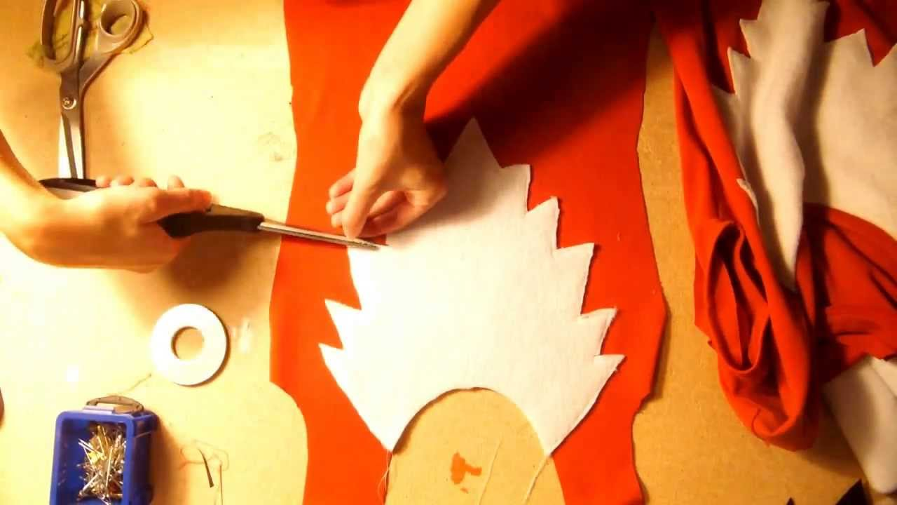 & DIY Fox Costume: What Does The Fox Say? - YouTube