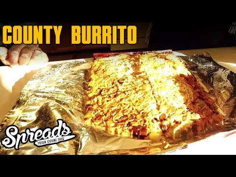 How to make a County Burrito - Spreads Exclusive 2.1