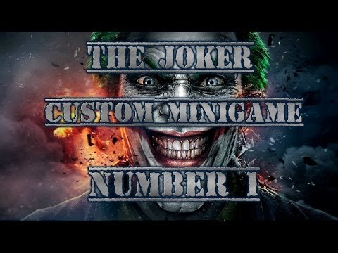 Minecraft: The Joker: Custom Minigame! #1 With Jordan and Friends