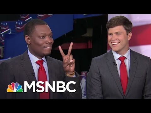 Thumbnail: SNL's Michael Che, Colin Jost Take On The RNC | MSNBC