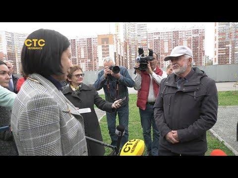 Благоуйстройство северо-запада Челябинска проинспектировала Наталья Котова