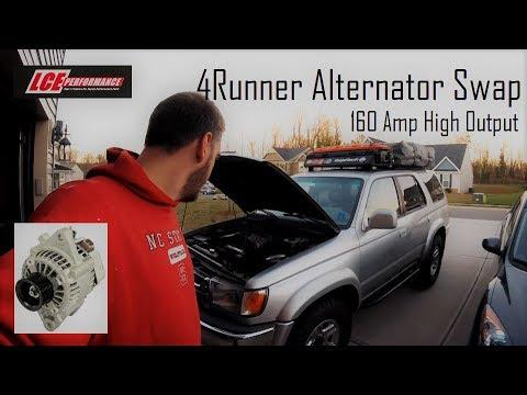 4Runner LCE Performance 160 Amp Alternator and Big Three Wiring upgrade