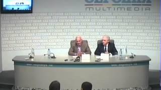 Пресс-конференция с Владимиром Познером (часть 1)