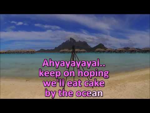 DNCE - Cake By The Ocean KARAOKE