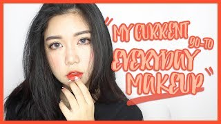 【eng Sub | 华语字幕】my Current Go-to Everyday Makeup Look 2015