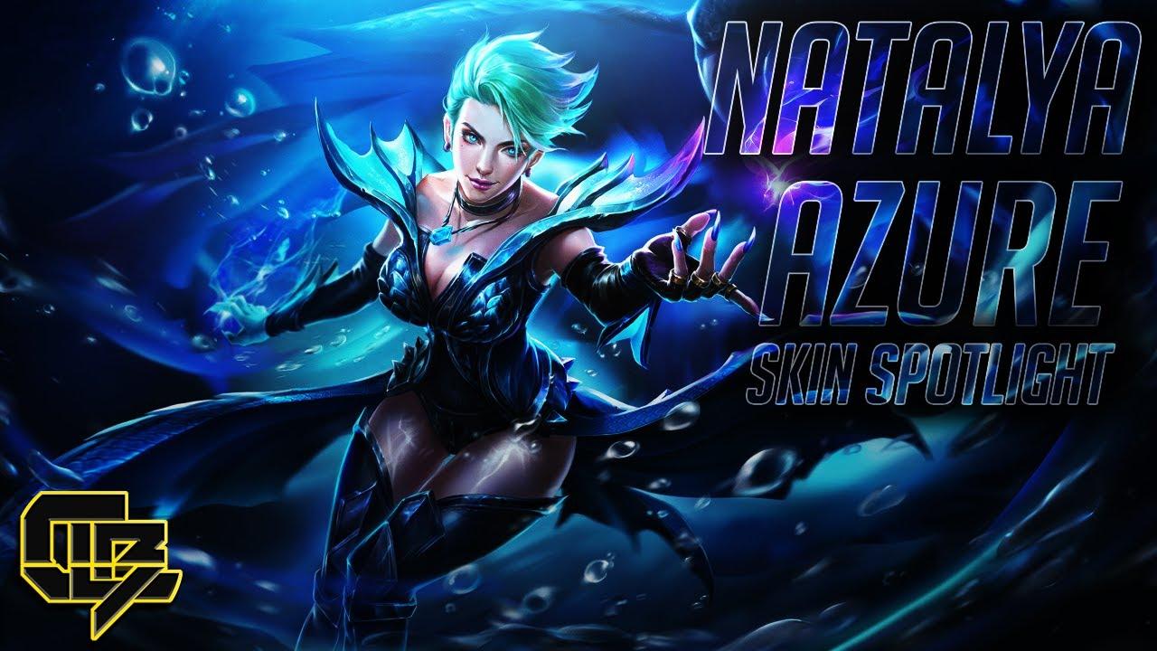 Natalya Azure Skin Spotlight Arena Of Valor