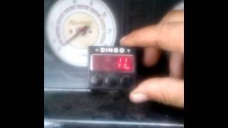 Данные для колибровки бака газа для БК. Динго