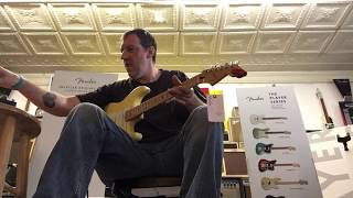 Ian C. Bouras improv at The House of Guitars