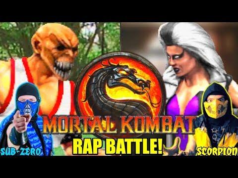 Scorpion & Sub-Zero REACT - MORTAL KOMBAT: EPIC RAP BATTLE 3 (By Dashiexp) | MKX REACTION PARODY! thumbnail