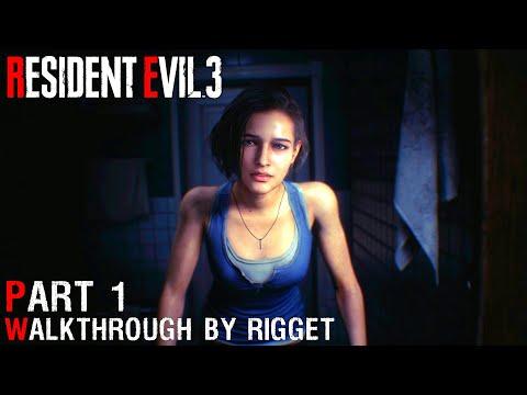 """Resident Evil 3 Remake Прохождение Часть 1 """"Немезида идет на охоту"""""""