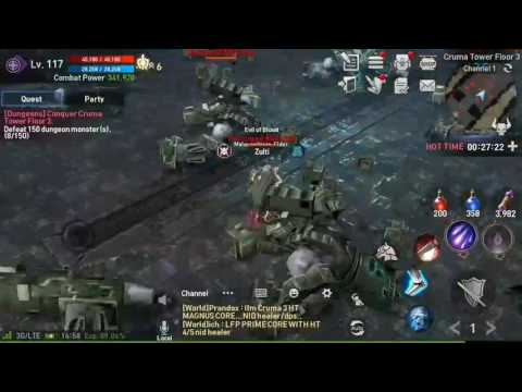 Lineage 2 Revolution – Paladin Gameplay ( Solo Hot Time. Croma 3)