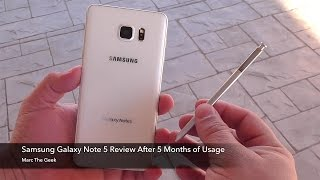 Galaxy Note 5 Review After Five Months of Usage