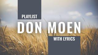 Don Moen Worship Soฑgs 1 Hour Playlist //with Lyrics// Praise and Worship, Gospel, Christian Music