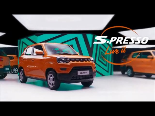 1st Ever Video Brochure | S-Presso | Shivam Autozone Mumbai.