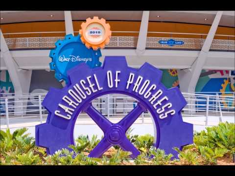 Carousel of Progress - Queue Area Music
