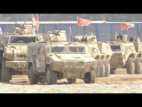 China Showcases Advanced Tanks, Armored Vehicles at Zhuhai Airshow