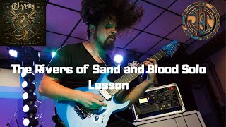 Etherius- The Rivers of Sand and Blood Solo Lesson