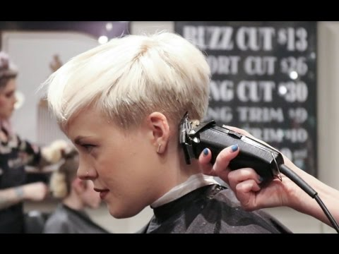 Undercut Pixie How I Get My Haircut Youtube