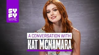 Shadowhunters' Katherine McNamara On Clace Shipping, Pranks & What's Coming Next | SYFY WIRE
