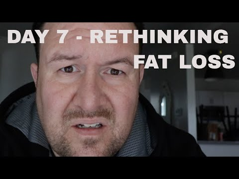 DAY 7 - THE EXTREME INTERMITTENT FASTING SAGA - RETHINKING FAT LOSS AND GIVEAWAY NO. 1
