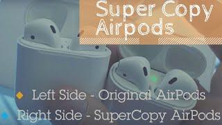 Лучшая копия Apple Airpods из Китая #inChinaTrade Обзор и Отгрузка
