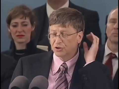 Remarks of Bill Gates Harvard Commencement 2007