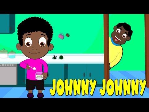 Johny Johny Yes Papa Somali - Johny Johny Ha Aabo | Somali Kids Songs | Hees caruureed