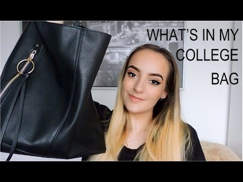 ♡ WHAT'S IN MY COLLEGE BAG 2018 | Sixth Form College ♡
