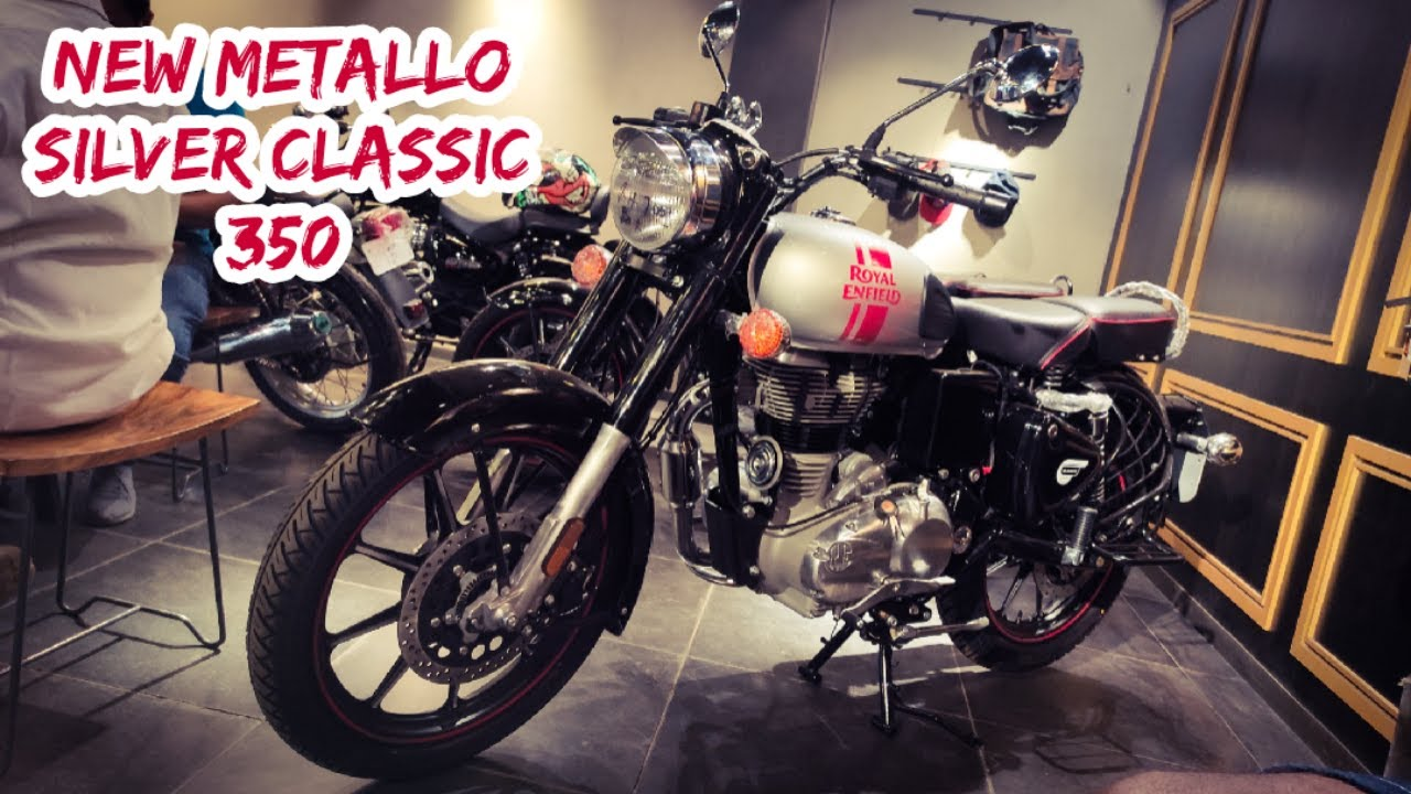 Metallo Silver Royal Enfield Classic 350 New color Walkaround and Price
